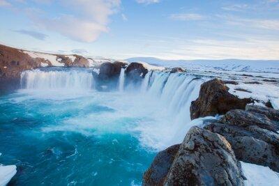 Fototapeta Godafoss wodospad Islandii