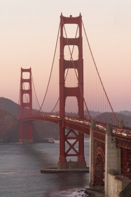 Fototapeta Golden Gate Bridge Fort Point San Francisco Bay Kalifornia