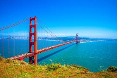 Fototapeta Golden Gate Bridge w San Francisco, Kalifornia, USA - Daytime