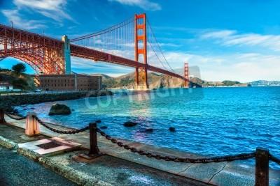 Fototapeta Golden Gate, San Francisco, Kalifornia, USA.