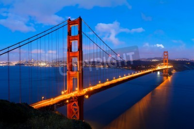 Fototapeta Golden Gate, San Francisco w Kalifornii