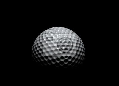 Fototapeta Golf piłkę w ciemno
