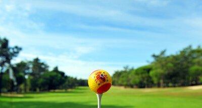 Fototapeta Golf w Hiszpanii