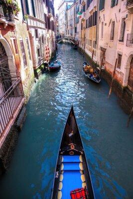 Fototapeta Gondola na kanale w Wenecji, Włochy