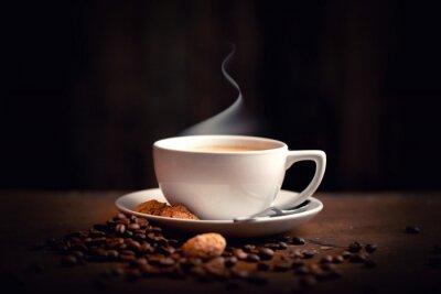 Fototapeta gorące, świeże kawy