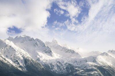 Fototapeta Góry i chmury