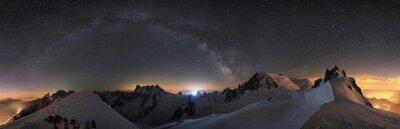Fototapeta Góry pełne gwiazd