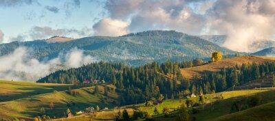 Fototapeta Góry w chmurach