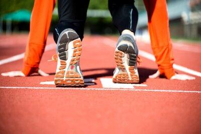 Fototapeta Gotowy do sprintu