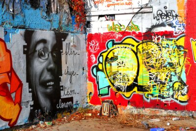 Fototapeta Graffiti: Kontekst