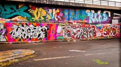 Fototapeta Graffiti na ścianie