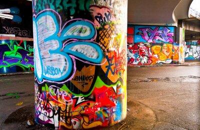 Fototapeta Graffitti Wall