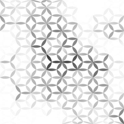 Fototapeta Gray White mesh Background, Creative Design Templates