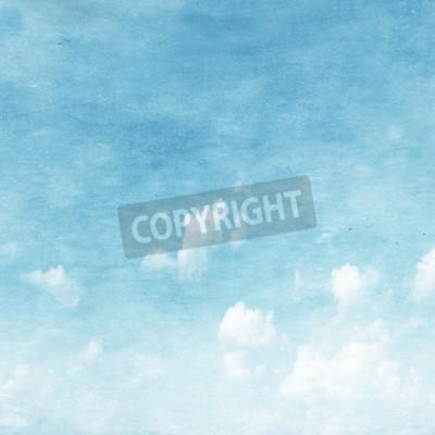 Fototapeta Grunge obraz nieba.