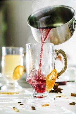 Fototapeta grzane wino