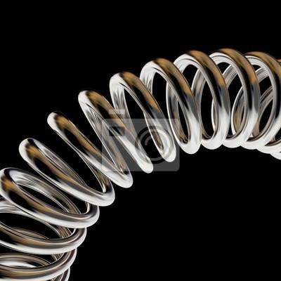 grzywny 3d obraz tle wiosny metalu
