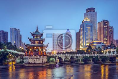 Fototapeta Guiyang, Chiny w Jiaxiu Pavilion