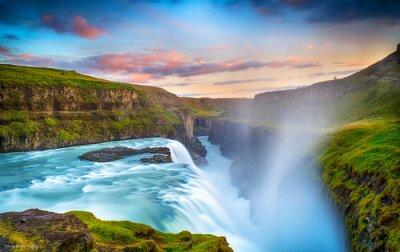 Fototapeta Gulfoss Falls, Islandia