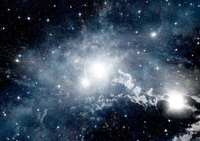 Fototapeta Gwiazd, pyłu i gazu mgławica