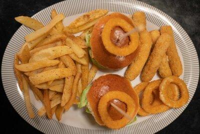 Fototapeta hamburguesas mini