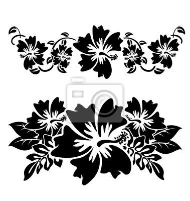 Fototapeta Hawajski Kwiat Hibiskusa