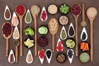 Fototapeta Health Food Sampler