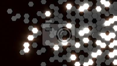 hexagon shaped cells