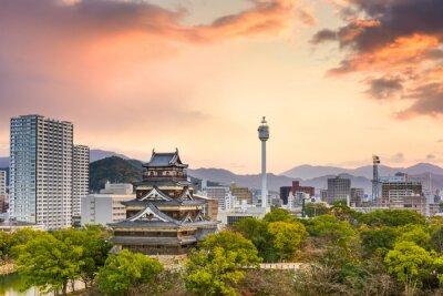 Fototapeta Hiroshima Japonia Pejzaż