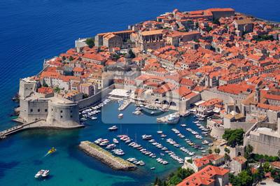 Fototapeta Historyczne stare miasto w Dubrowniku, Chorwacja