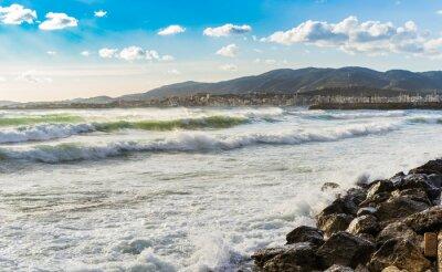 Fototapeta Hiszpania Küste Meer Brandung Wellen