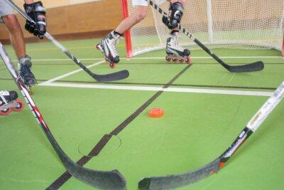 Fototapeta Hokej Roller