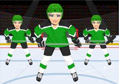 Fototapeta hokeju na lodzie Samica