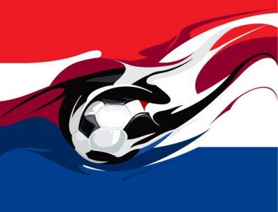 Fototapeta Holenderska piłka nożna