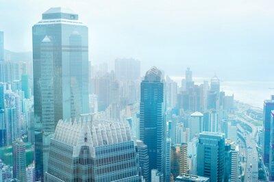 Fototapeta Hong Kong centrum biznesowe