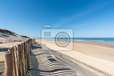 Fototapeta HOURTIN PLAGE (Gironde, France)