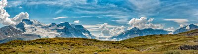 Fototapeta Icefield Glacier Park widok na panoramę
