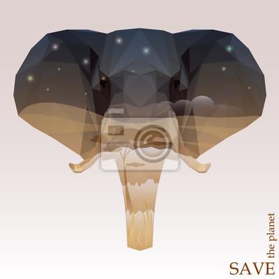 Słoń Save the planet