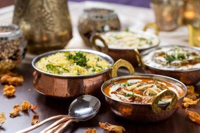 Fototapeta indyjskie jedzenie