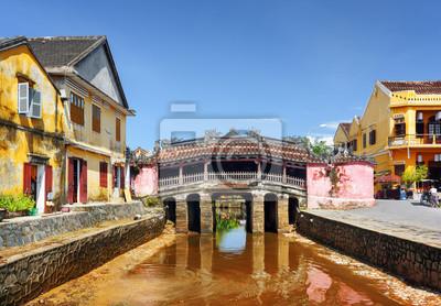 Fototapeta Japończycy Most w Hoi An Ancient Town, Wietnam