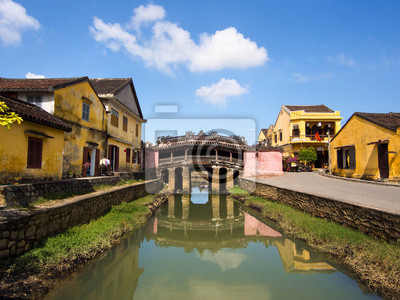 Fototapeta Japoński Covered Bridge, Hoi An, Wietnam