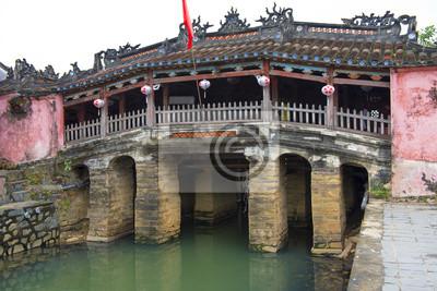 Fototapeta Japoński kryty most, Hoi An, Wietnam