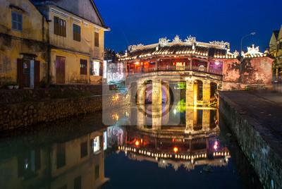 Fototapeta Japoński mostek w Hoi An Ancient miasta, Wietnam