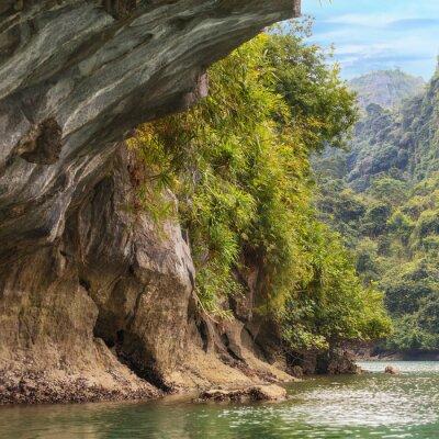 Fototapeta Jaskinie w Halong Bay
