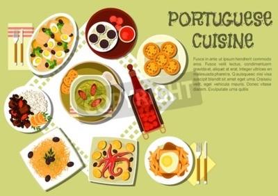 Jasna I Smaczna Obiadowa Ikona Kuchni Portugalskiej Z Kalderowa
