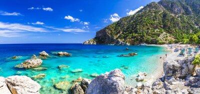 Fototapeta jedna z najpiękniejszych plaż w Grecji - Apella, Karpathos