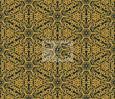 Fototapeta Jednolite tło w stylu arabskim