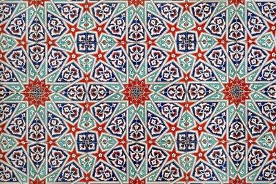Fototapeta Jednolite wzór płytki mozaiki