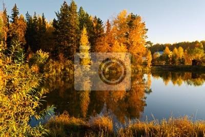 Fototapeta jesień krajobraz.