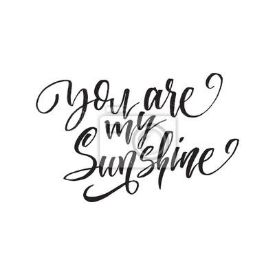 Fototapeta Jesteś Moim Słońcem Inspirujące Cytaty O życiu Pozytywne Zdanie