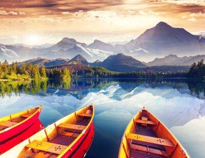 Fototapeta jezioro